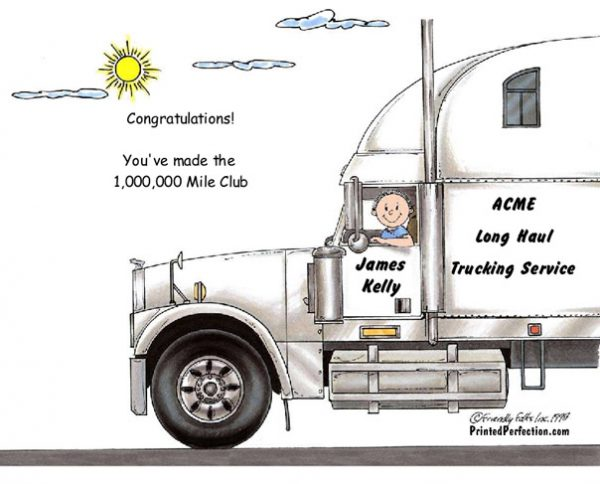 189-FF Truck Driver, 18 Wheeler, Male