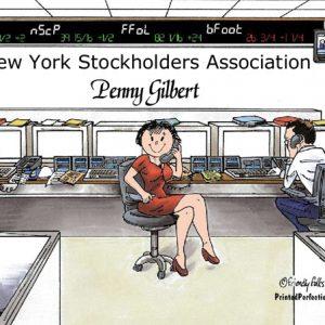 191-FF Stock Broker, Female