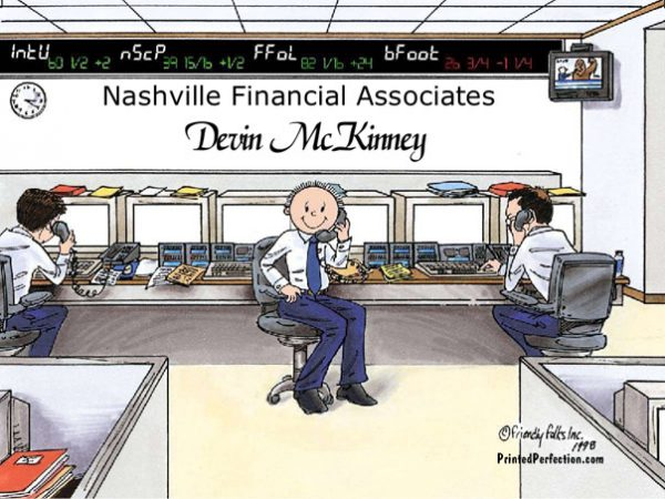 192-FF Stock Broker, Male