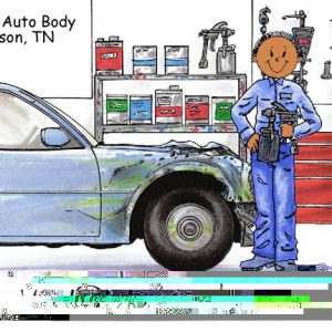 193-FF Auto Body, Male - Dark Skin