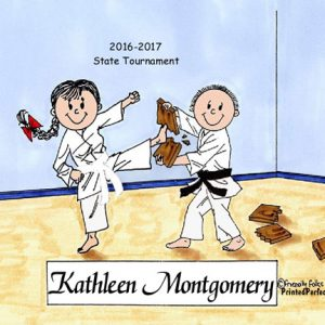 198-FF Karate, Male & Female