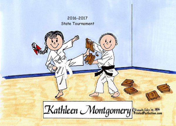 198-FF Karate, Male & Female