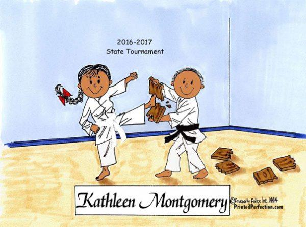 198-FF Karate, Female & Male