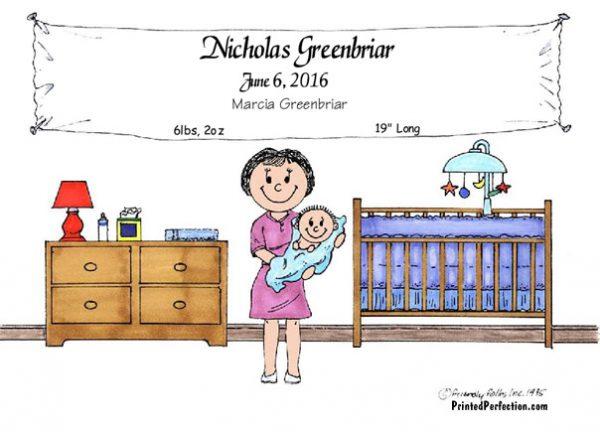 203-FF New Baby Boy, Single Mom