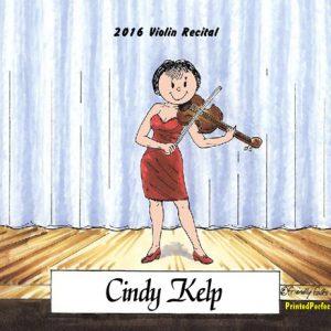 206-FF Violin Player, Female