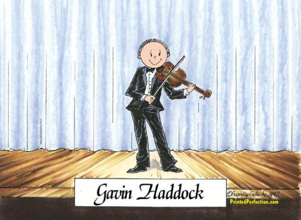 207-FF Violin Player, Male