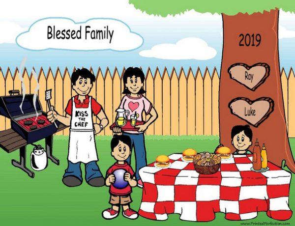 210f-NTT Family Backyard Barbeque 2 boys