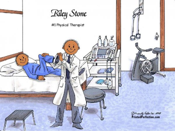 215-FF Physical Therapist, Dark Skin