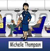 257-NTT Flight Attendant, Female
