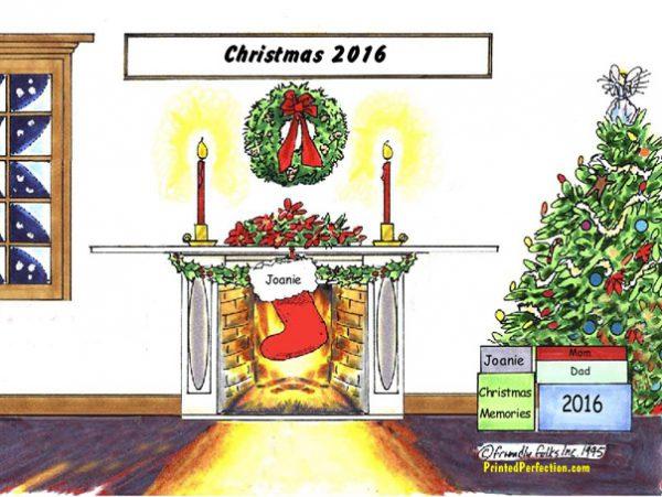Christmas Stocking 1 - Friendly Folks