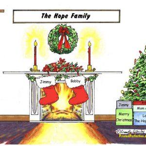 Christmas Stocking 2 - Friendly Folks
