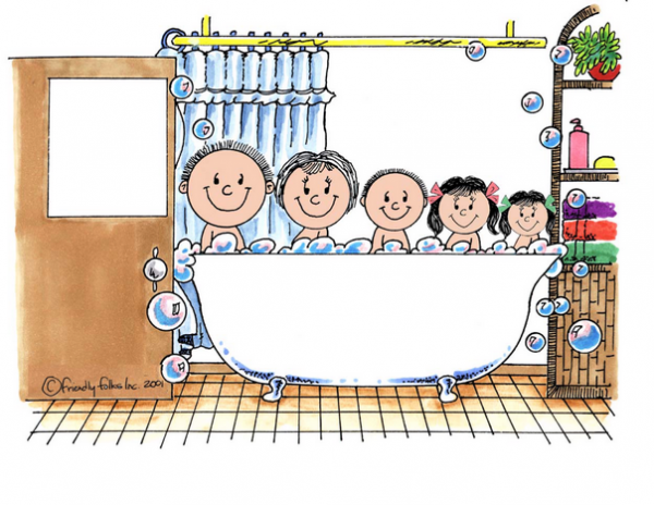 404-NTT Tub Time 1 boy
