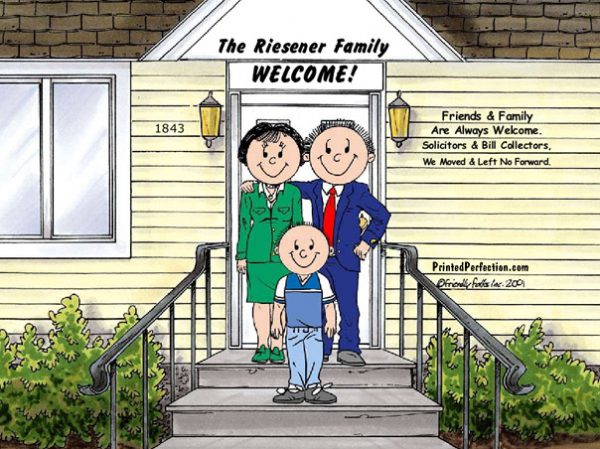 424-FF Family Home, Couple, One Boy