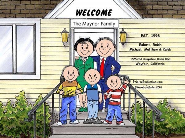 426-FF Family Home, Couple, Three Boys