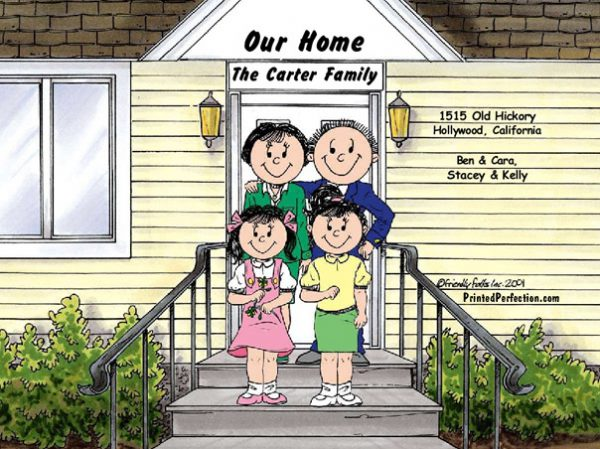 428-FF Family Home, Couple, Two Girls