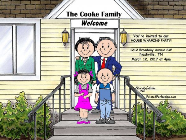 430-FF Family Home, Couple, One Boy, One Girl
