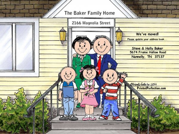 432-FF Family Home, Couple, Two Boys, One Girl