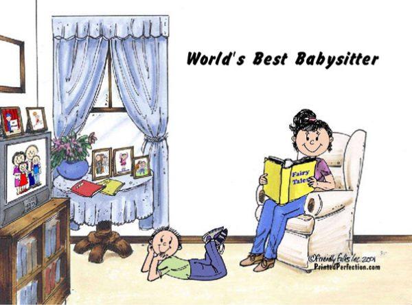 444-FF Babysitter, 1 Boy