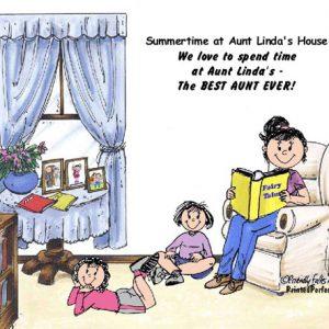 447-FF Babysitter, 2 Girls