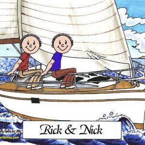 452-FF Sailing Friends, Male & Male