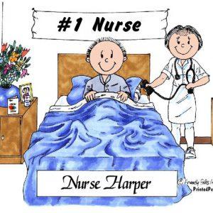 484-FF Nurse, Female, Adult Male Patient