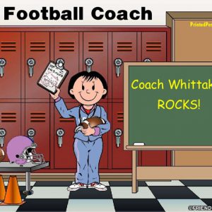 489-FF Coach, Football, Female