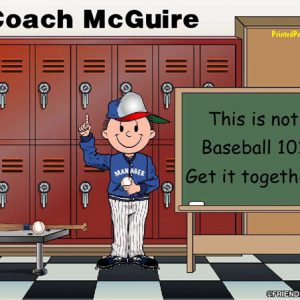 490-FF Coach, Baseball, Male
