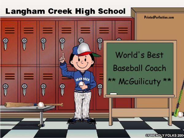 491-FF Coach, Baseball, Female