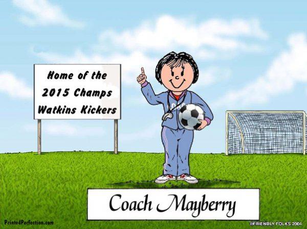 493-FF Coach, Soccer, Female