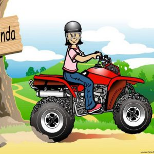 511-NTT ATV Rider, Female