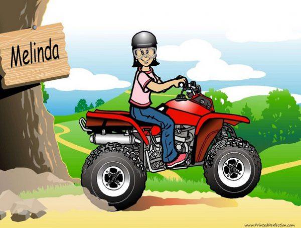 511-NTT ATV Rider, Female
