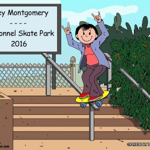 516-NTT Skateboarder, Female