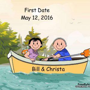 519-FF Rowboat, Couple