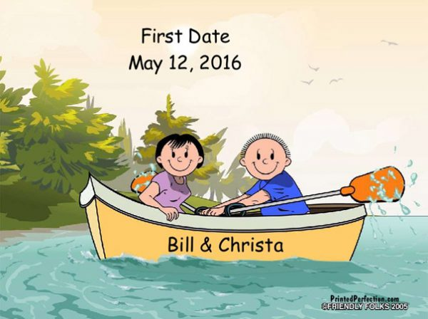 519-FF Rowboat, Couple