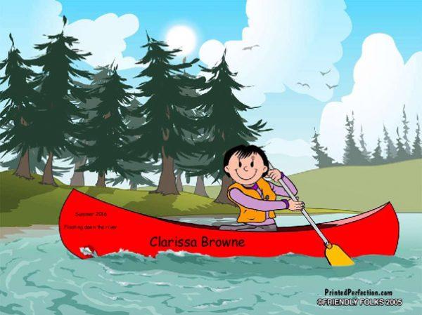 522-FF Canoe, Female