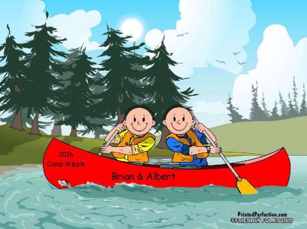 524-FF Canoe, Male & Male