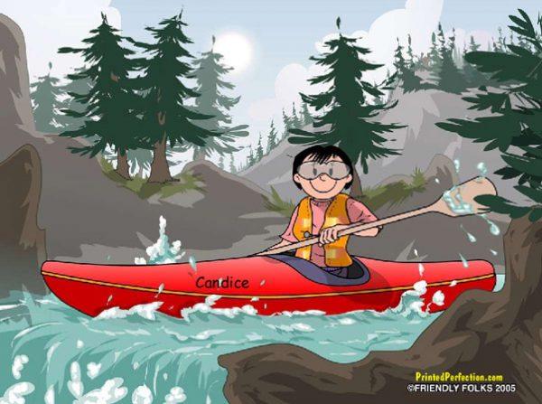 526-FF Kayak, Female