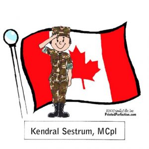 600-FF Canadian Military, Female
