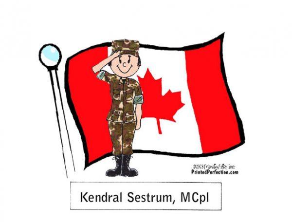 600-FF Canadian Military, Female
