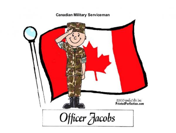 601-FF Canadian Military, Male