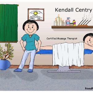 603-FF Massage Therapist, Female, Female Client