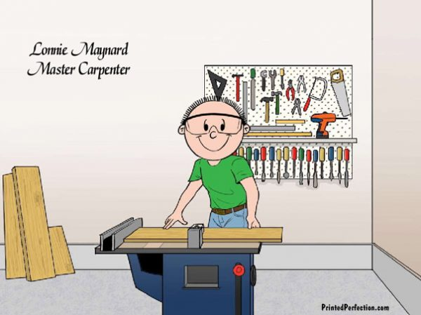 614-FF Carpenter, Woodworker