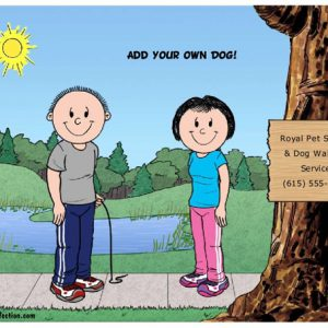625-FF Dog Park, Couple