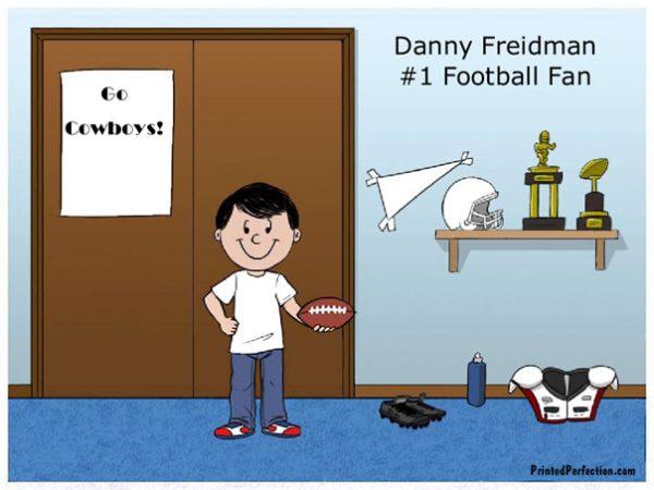 626-FF Football Fan, Boy