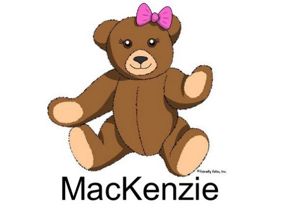 812-FF Teddy Bear, Female