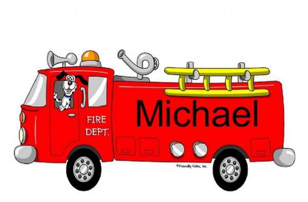 814-FF Fire Truck