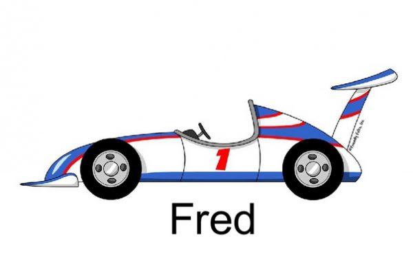 823-FF Race Car