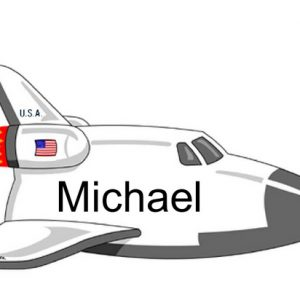 826-FF Space Shuttle