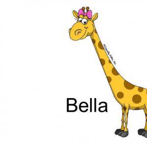840-FF Giraffe, Female