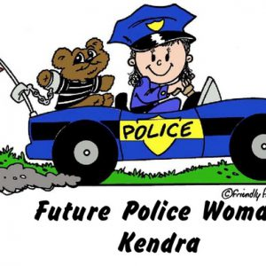 959-FF Future police- Officer, Female